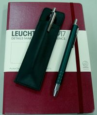 Lamy Tintenroller swift racing green mit Etui…